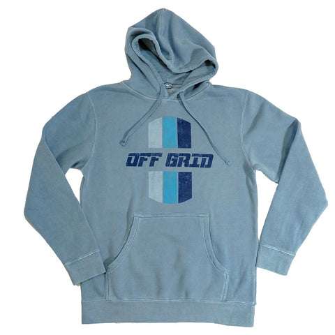 Image of Blue OGC Hoodie <BR>(Order One Size Down)