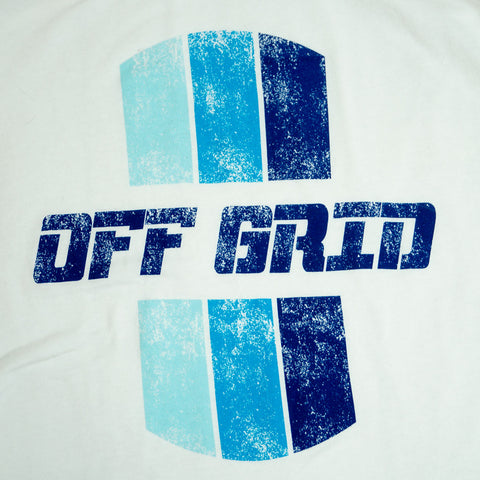Image of Original Off Grid women's tank zoomed in.