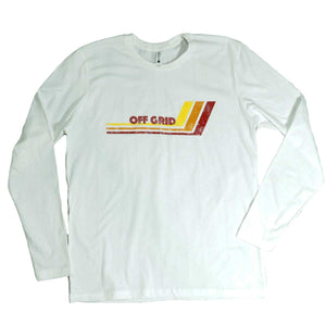 OGC Hockey Stick LS Tee - White