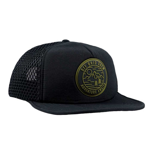 Image of Adventure Awaits OGC Hat - Black/Green