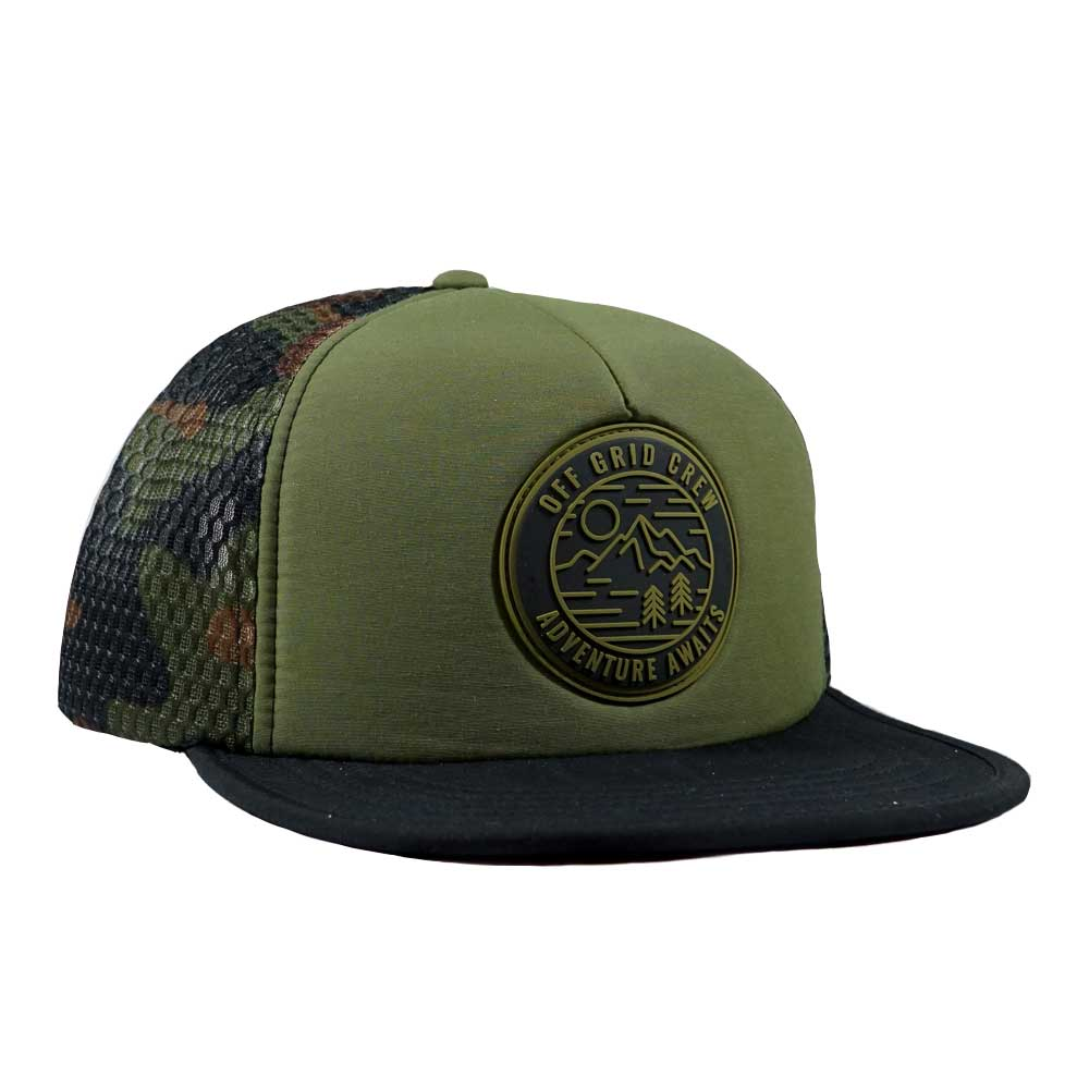 Adventure Awaits OGC Hat - Green/Camo