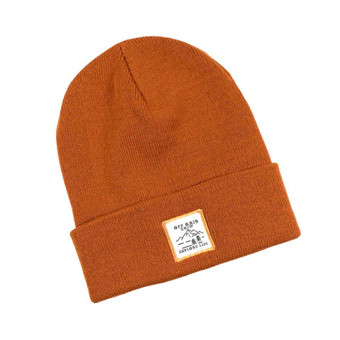 Image of Explore Life Beanie - Rust