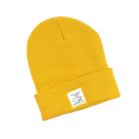 Explore Life Beanie - Wheat