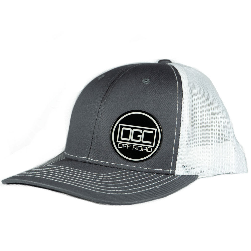 OGC Off Road Hat -Gray/White