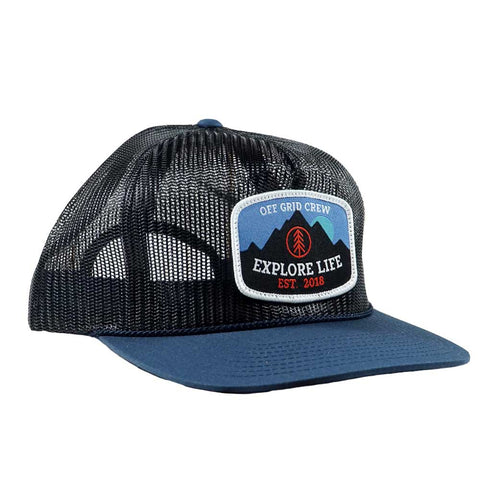 Explore Life Trucker OGC Hat - Navy