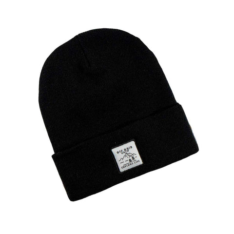 Image of Explore Life beanie - black