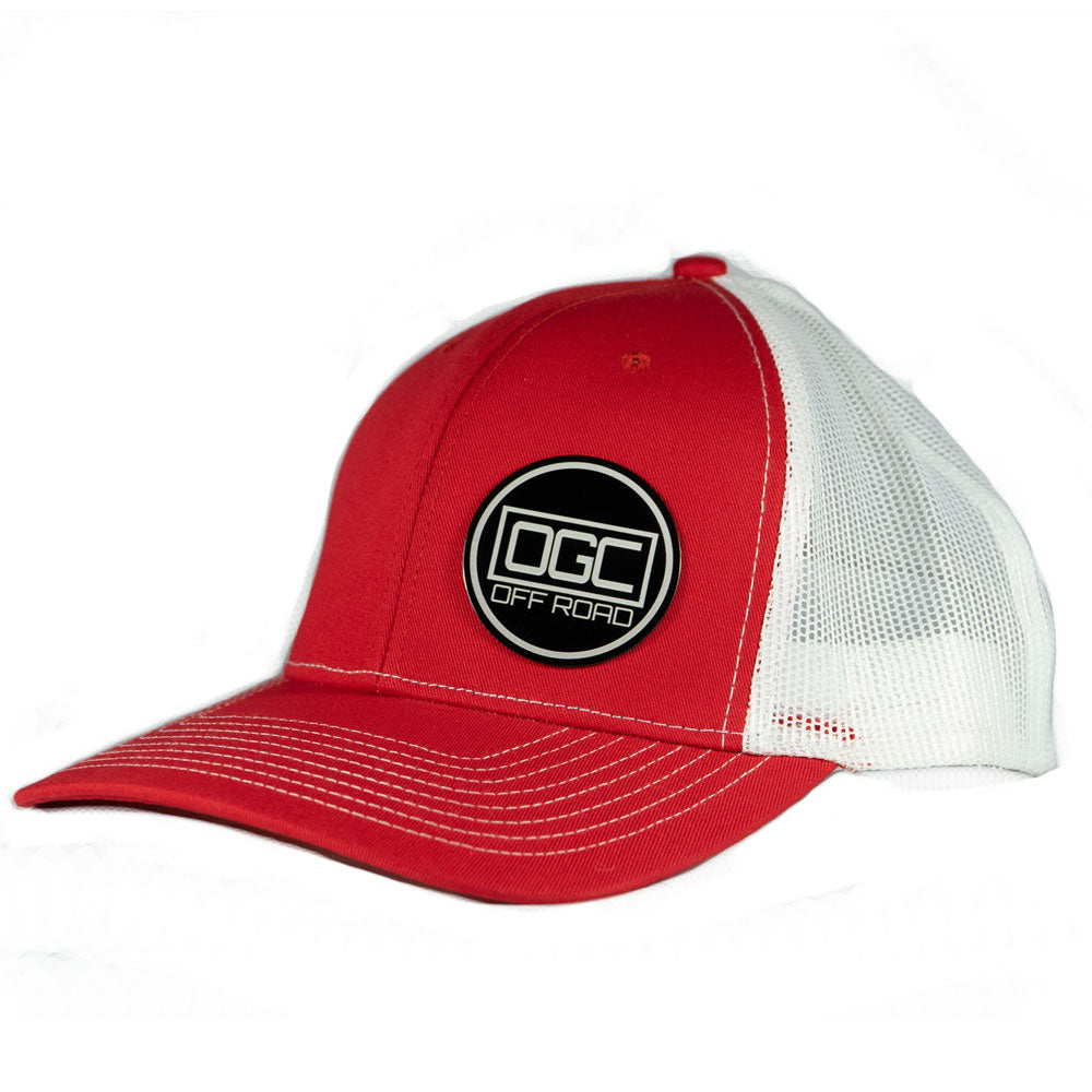 OGC Off Road Hat Red White Front