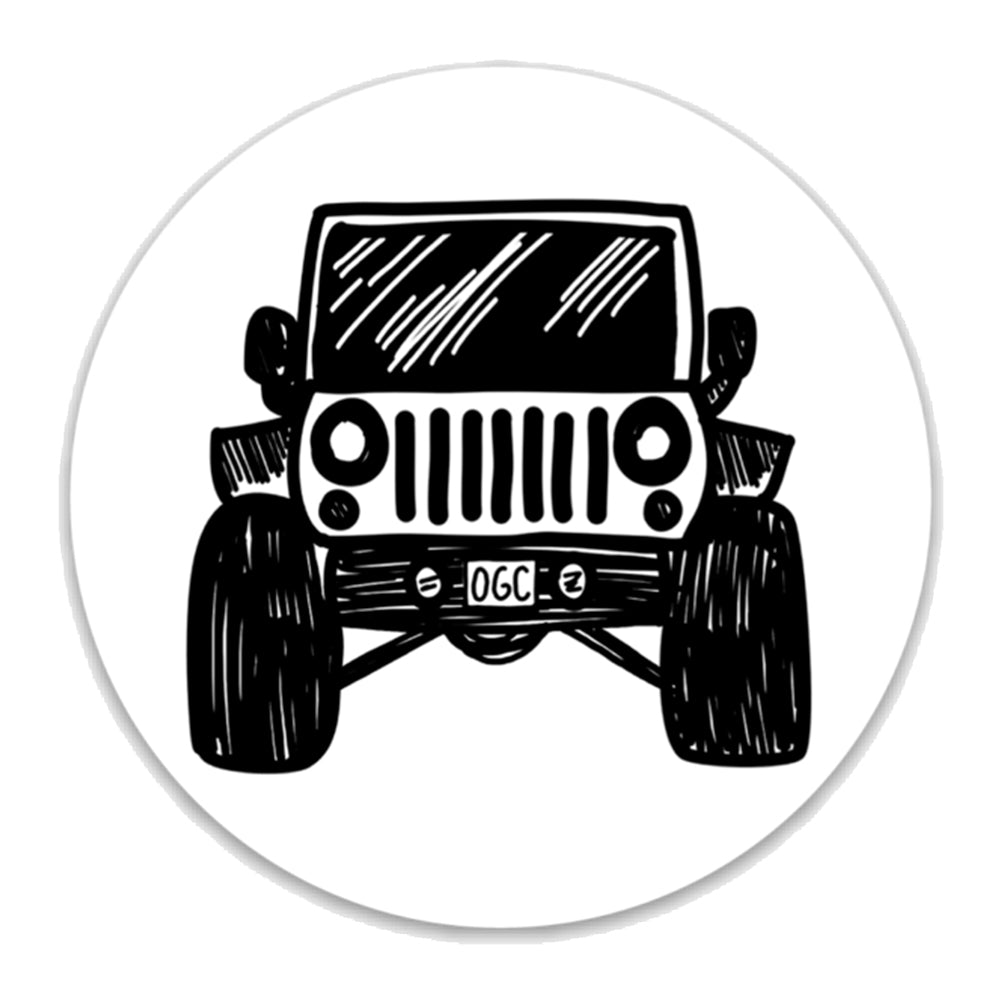 OGC Off Road Jeep Decal