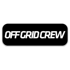Off Grid Crew Decal Black