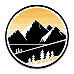Off Grid Mountains Decal