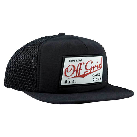 Image of Vintage OGC Hat - Black/Black