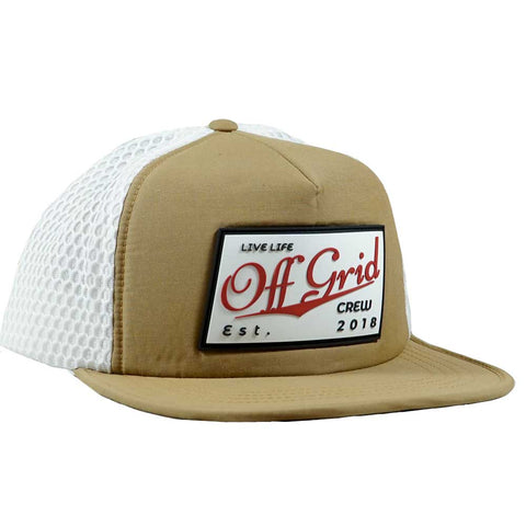 Vintage OGC Hat -Tan/White