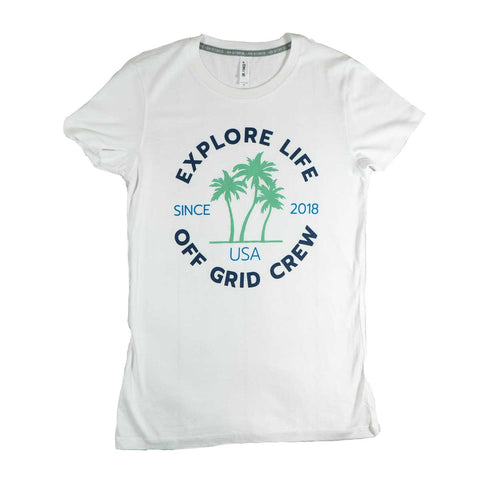 Image of Women's Explore Life Off Grid Tee