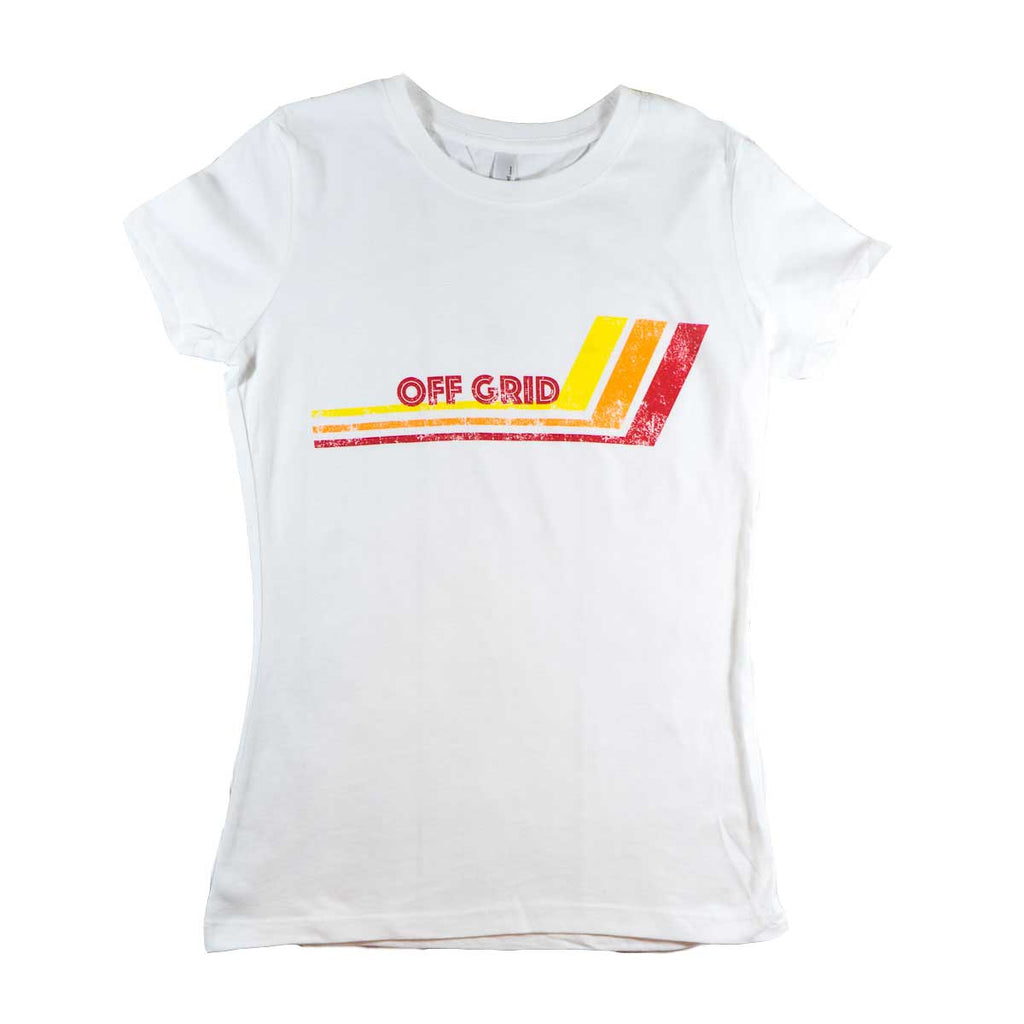 Women's Hockey Stick Tee - White