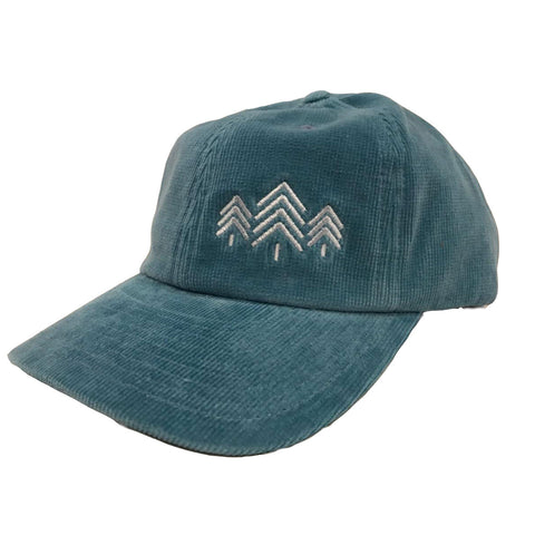 Cord Trees Hat - Teal