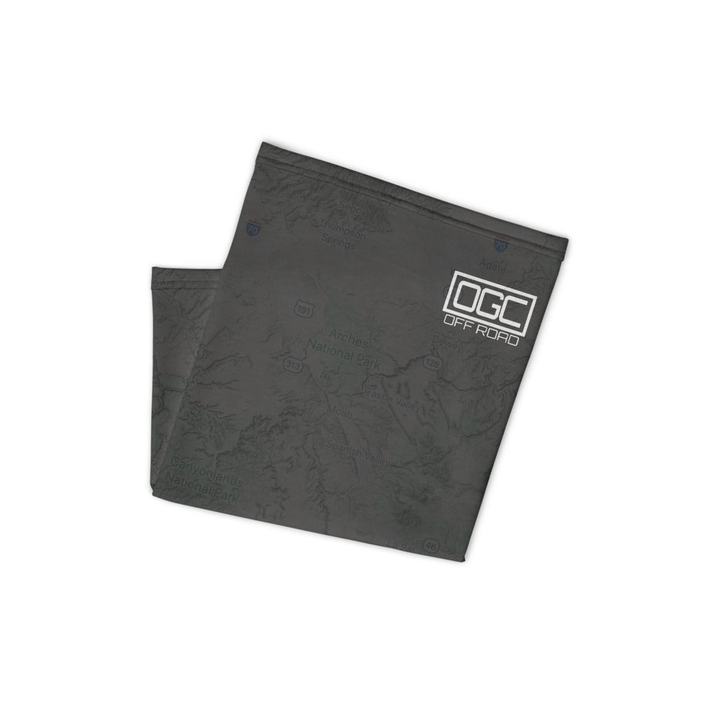 OGC Black Promise Land Neck Gaiter