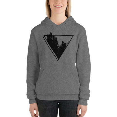 Woman OGC Forest Element Grey Hoodie