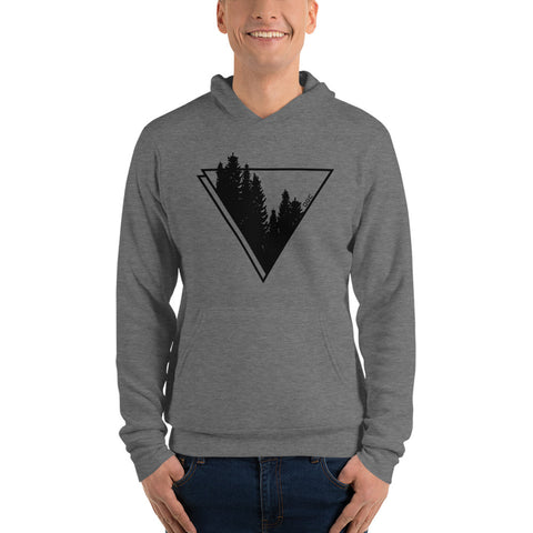 Image of Men OGC Forest Element Grey Hoodie