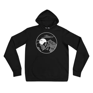 Mountain Shadow Black Hoodie