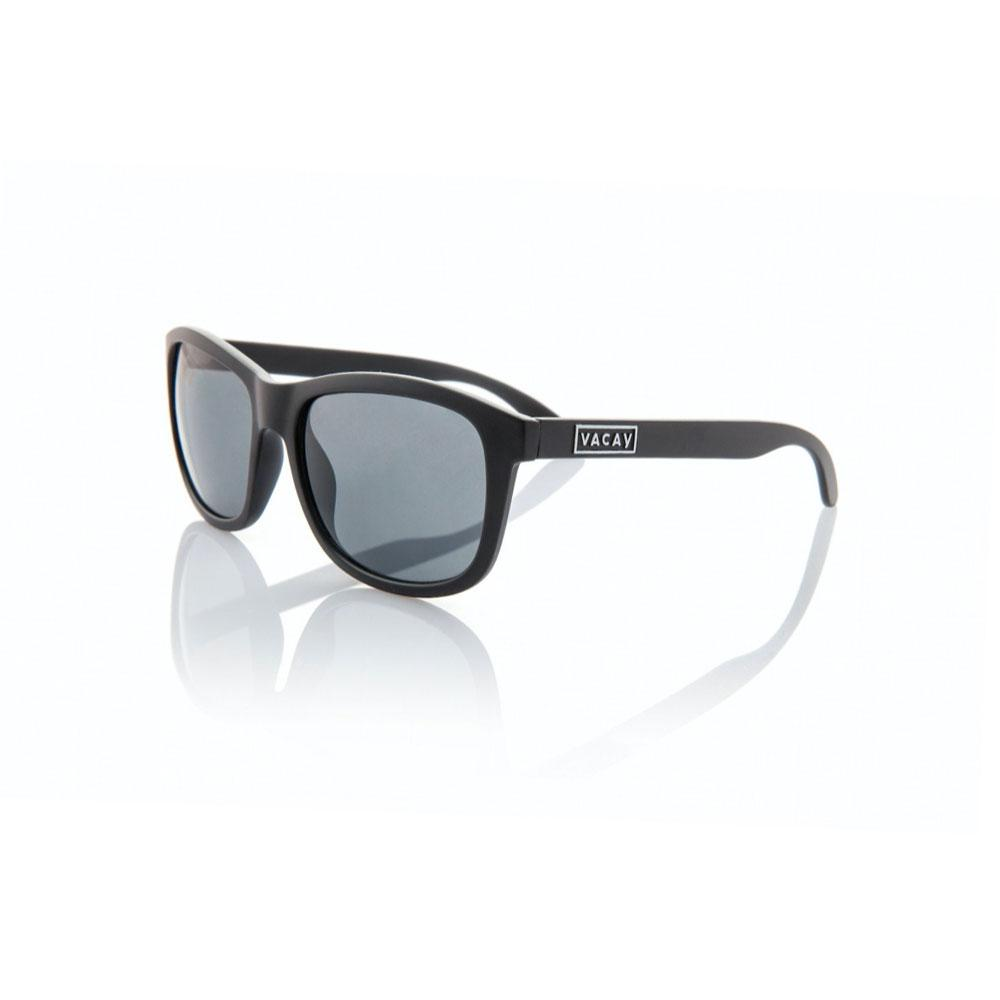 Vacay Sunglasses, classic black matte non-polarized