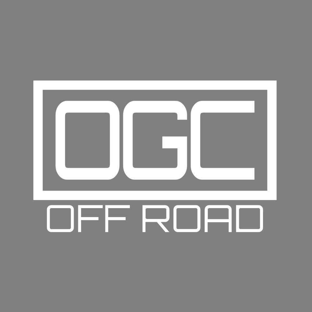 OGC Off Road Sticker - White