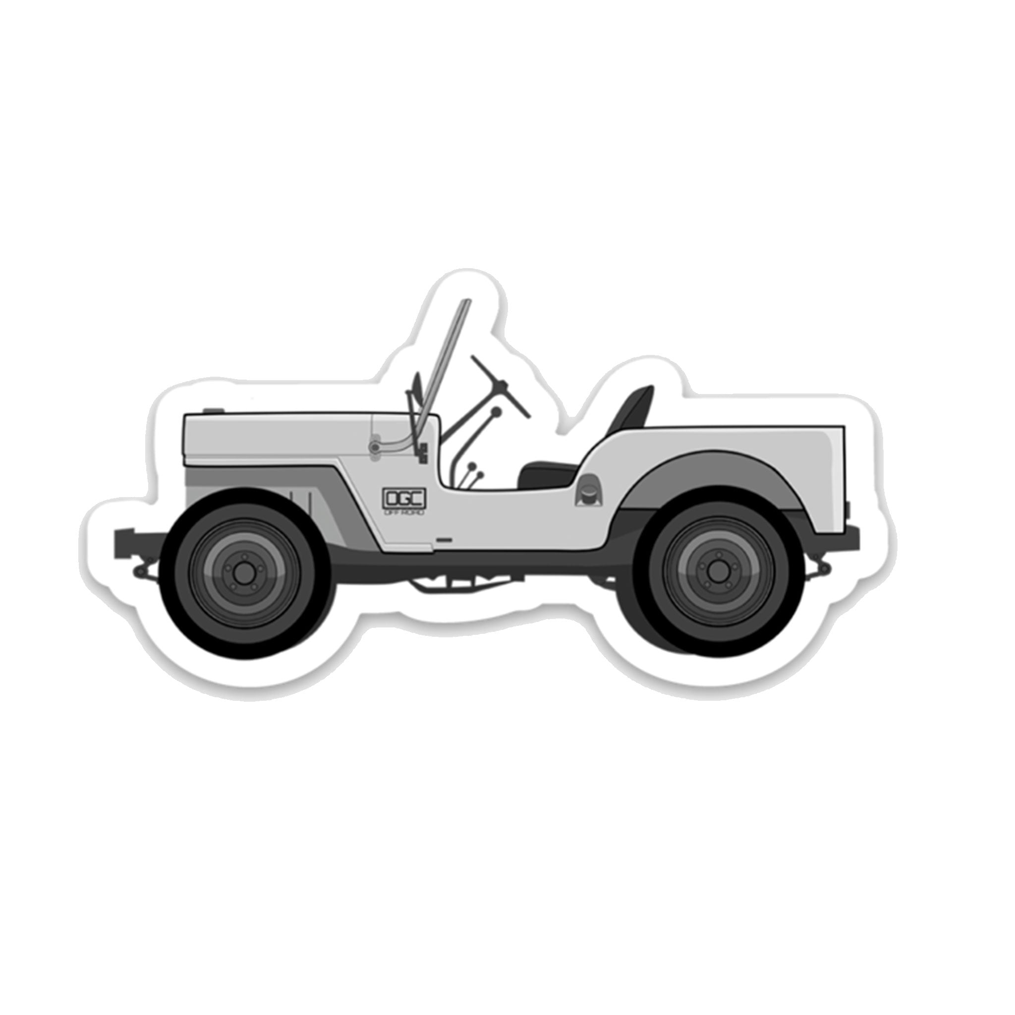 Willys OGC Decal