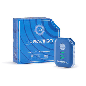 BioWaveGO Non-Opioid, FDA Cleared, Superior, Pain Relief Technology - Professional Athlete Proven & Trusted