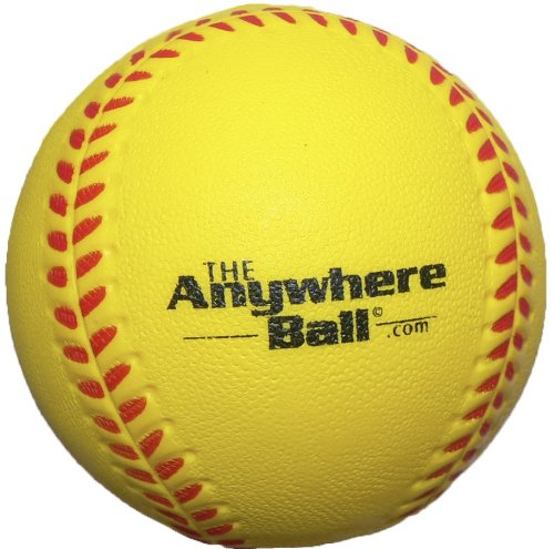 The Anywhere Ball Baseball/Softball Foam Training Ball