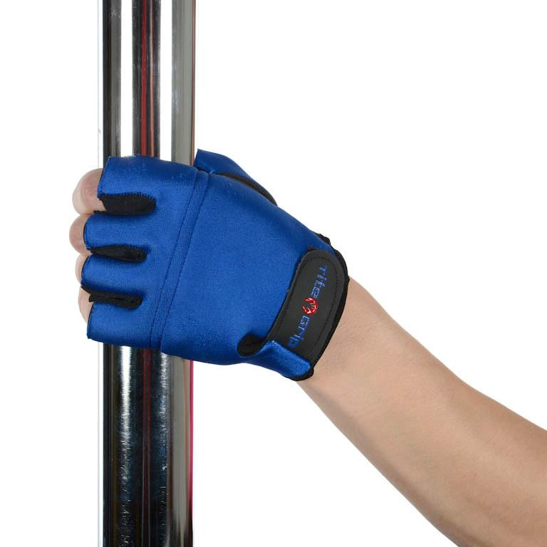 Tight Grip High Performance Magic Aerial Gloves for Women Blue