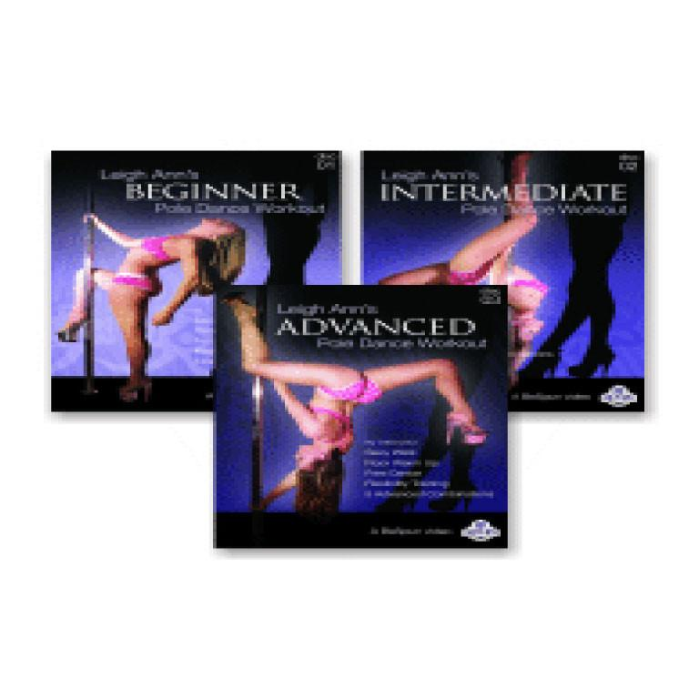 BeSpun Leigh Ann Orsi Pole Dance Instructional DVD Set of 3