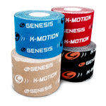 Genesis K-Motion 16.5 Foot Copper Infuzed Uncut Kinesiology Tape Roll