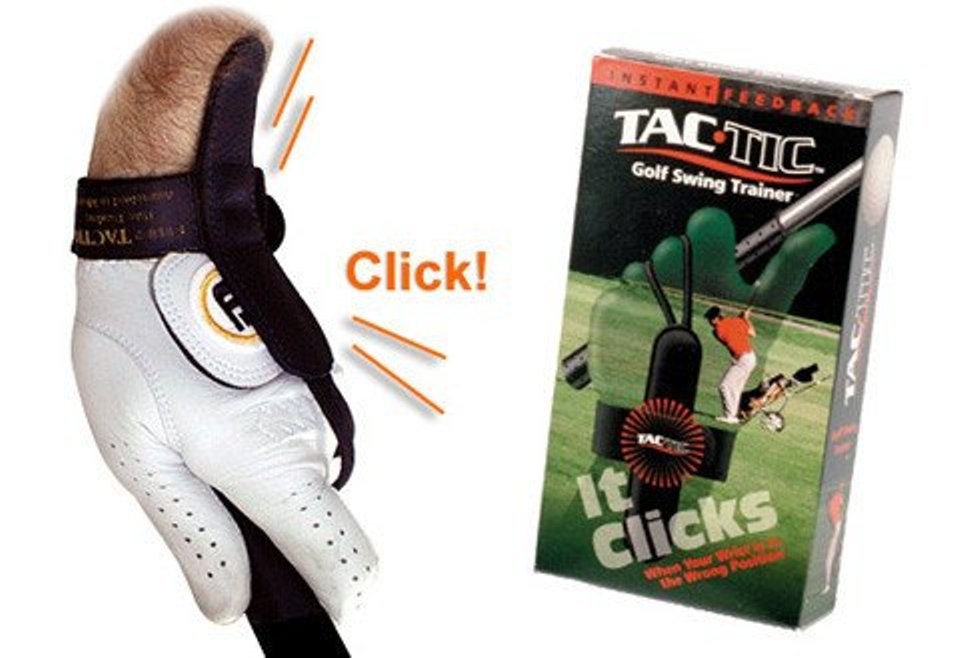 Tac Tic Golf Swing Wrist Training Aid