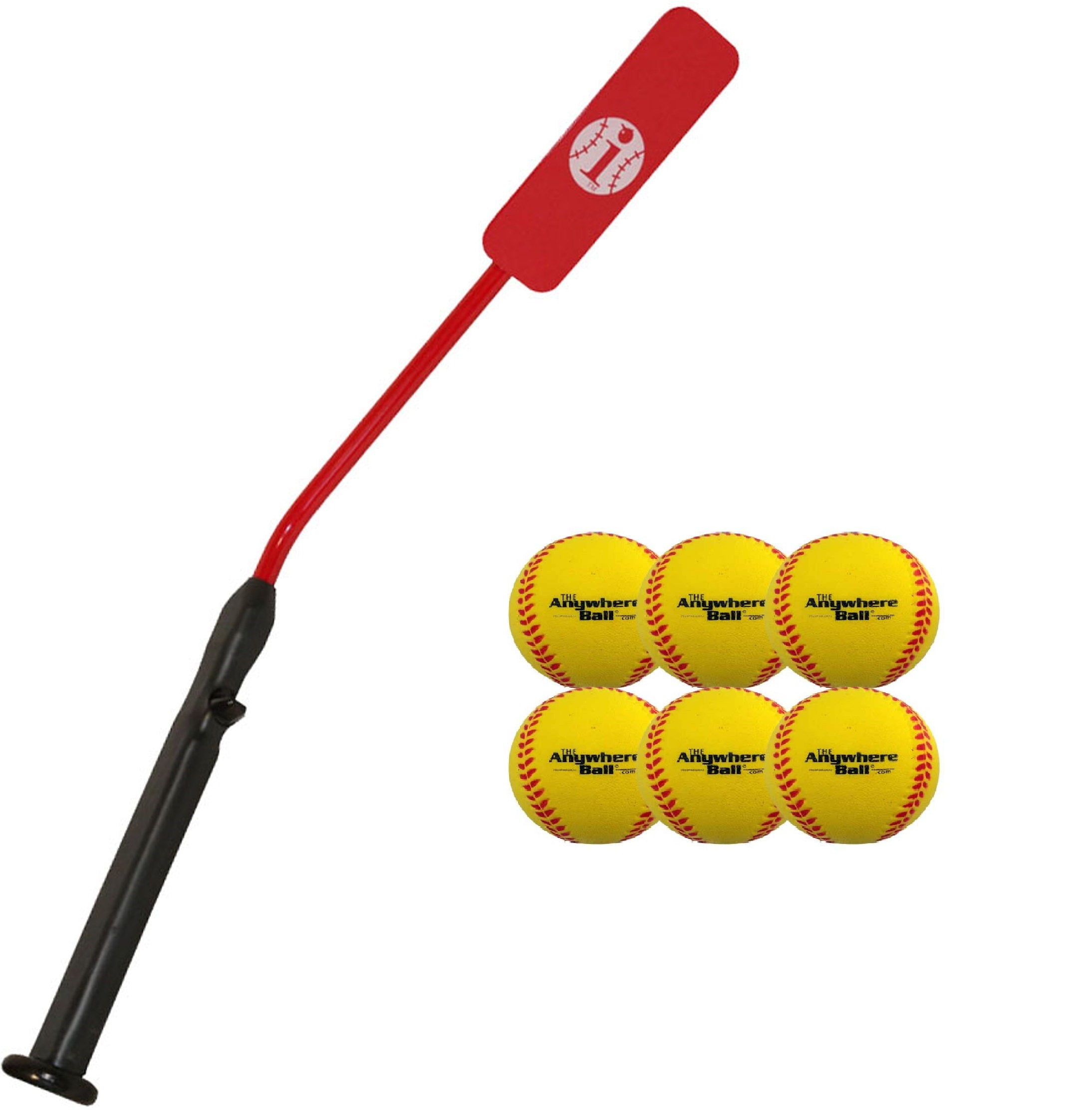 Insider Bat Baseball And Softball Batting Practice Kit