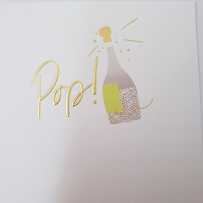 'Pop' Greetings Card