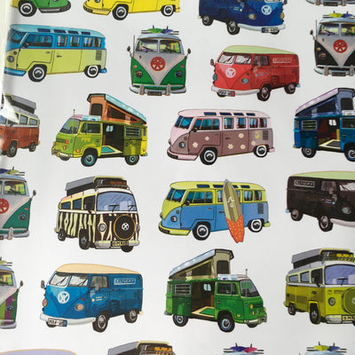 VW Gift Wrap and Gift Tag