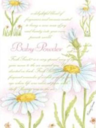 Scented Sachet - Baby Powder Fresh Scents