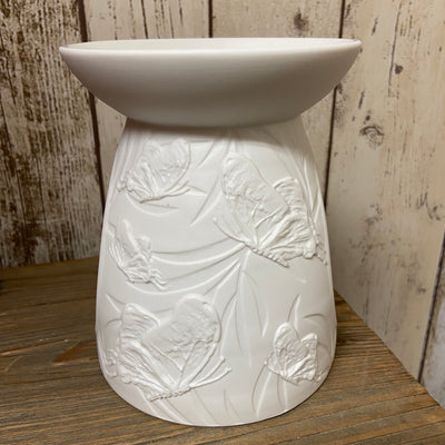 Porcelain Wax Melt Burner - Pretty Butterfly