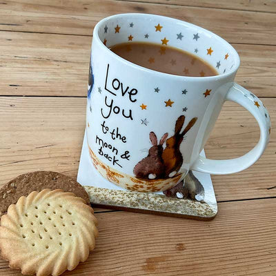 Alex Clark - Love You To The Moon And Back Rabbit Mug