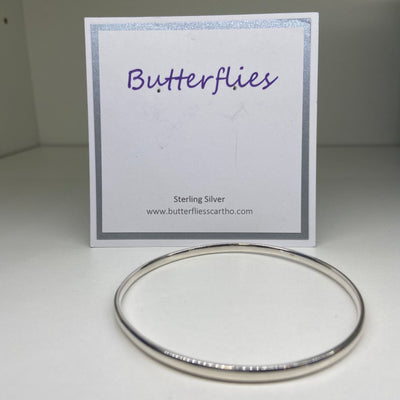 Sterling Silver Polished Bangle