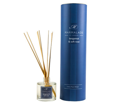 Reed Diffuser Large - Bergamot and Soft Rose