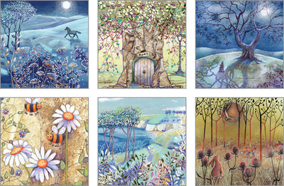 Notecard pack - Harvest Moon