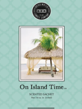 Scented Sachet - On Island Time