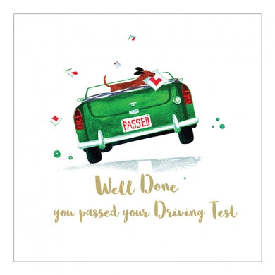 Passed Driving Test Greetings Card
