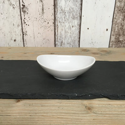 Porcelain Small Shallow Oval Dish