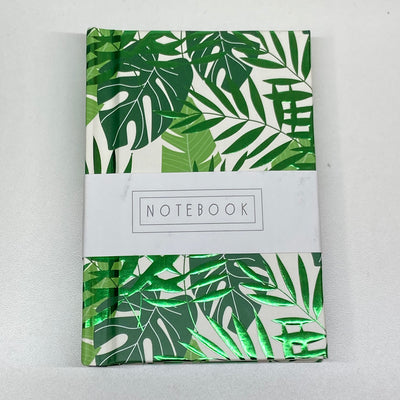 Half Lined Mini Notebook - Fern