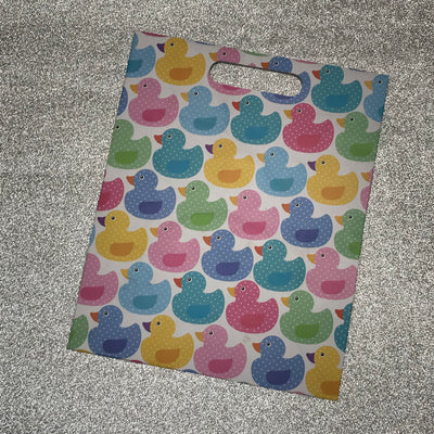 Gift Bag - Pastel Ducks Print