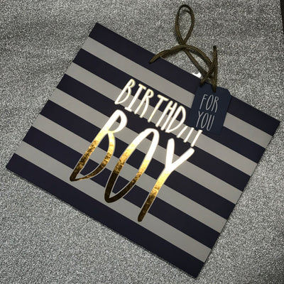 "Gift Bag - ""Birthday Boy"""