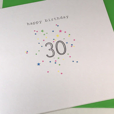 Happy Birthday 30 Card