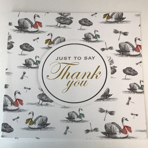 Thank You Note Cards Pack 12