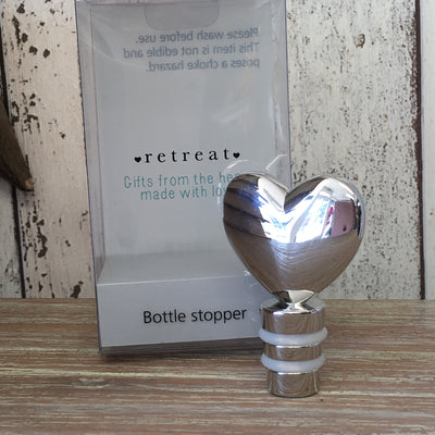 Retreat - Heart Bottle Stopper
